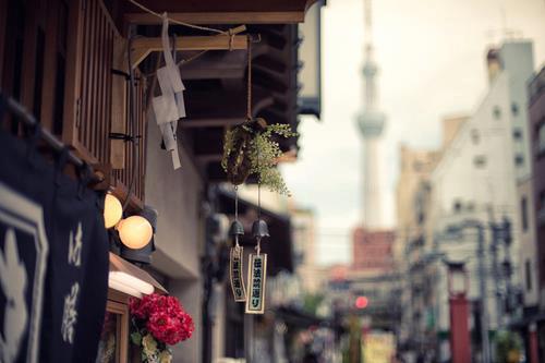 Quán cà phê có chuông gió, không tệ. Là kiểu quán mà mình thích nhất đó nha ~ rất Nhật ♥